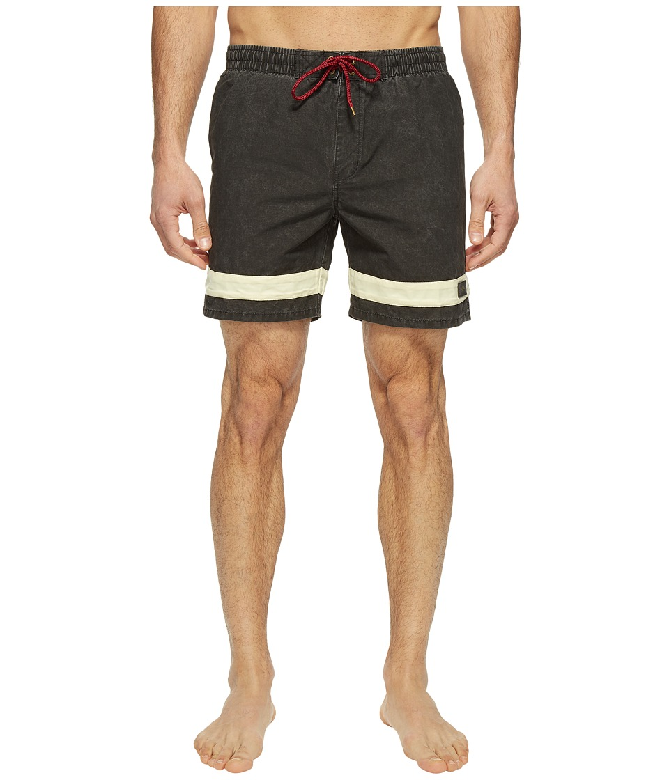 Globe - Dion Curb Poolshorts (Blanc) Men's Swimwear