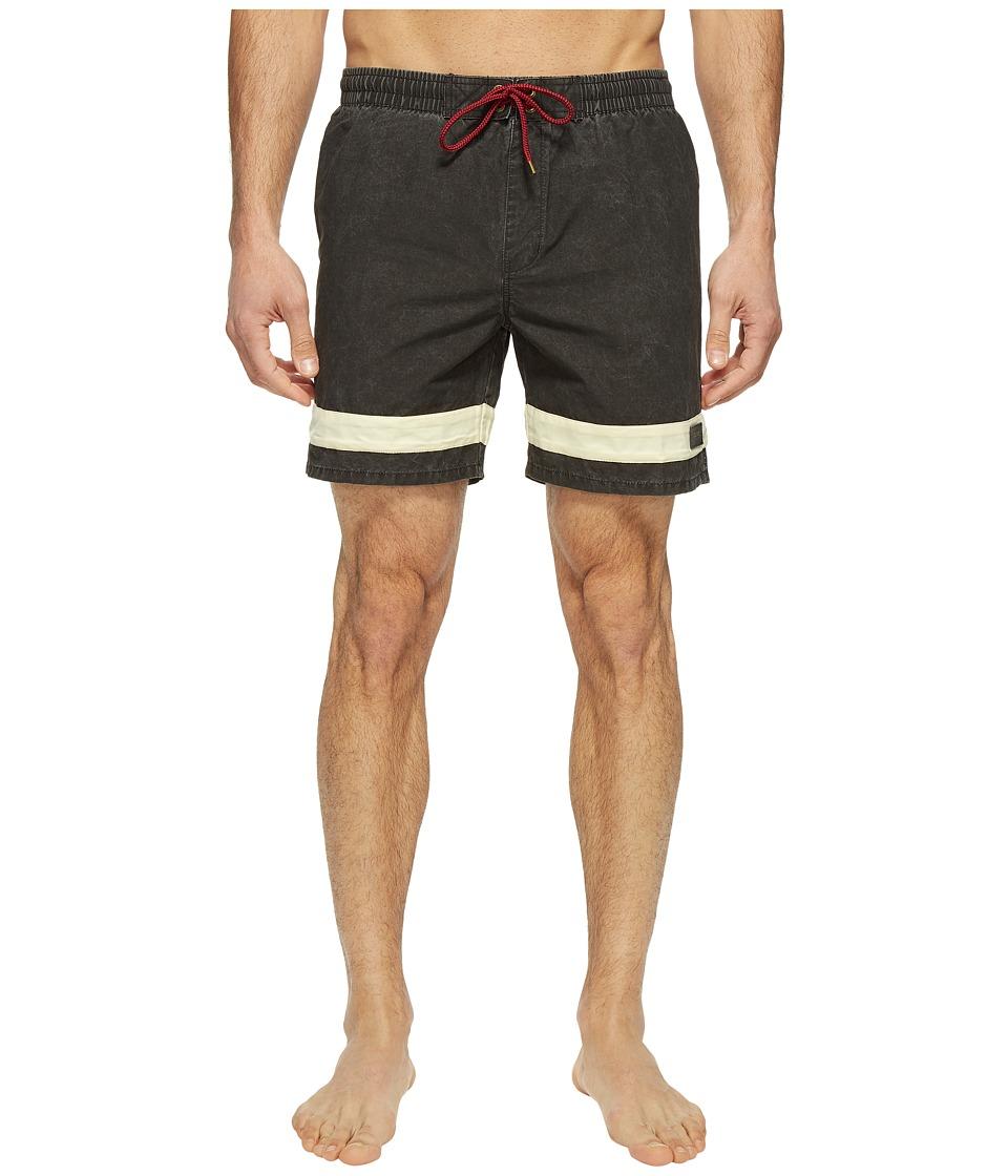 Globe - Dion Curb Poolshorts (Blanc) Men's Swimwear