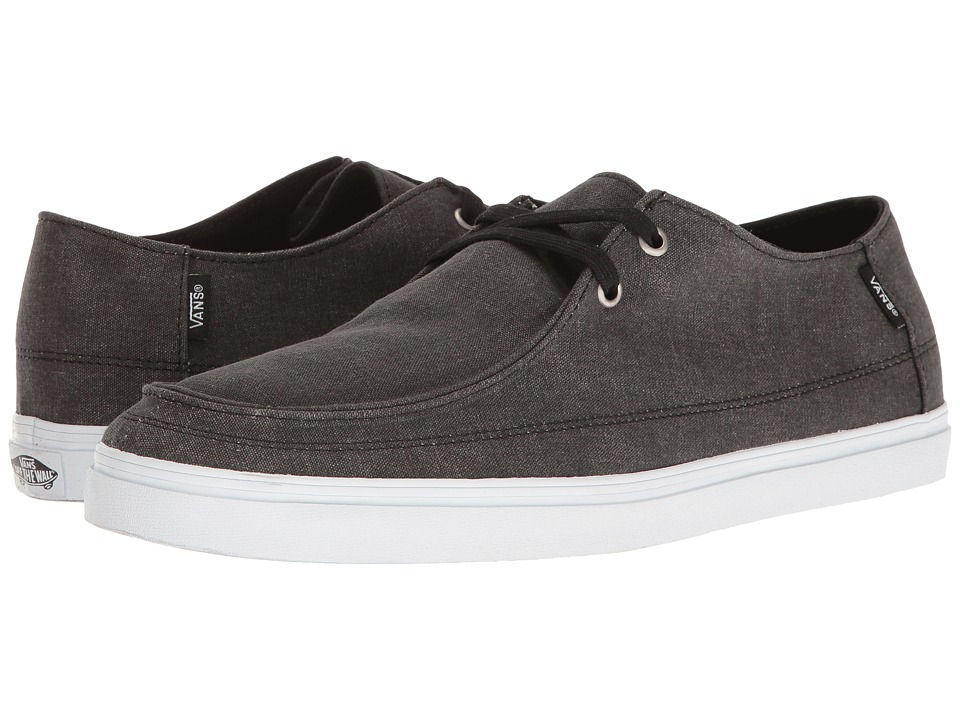 Vans - Rata Vulc SF ((Washed) Black) Men's Shoes