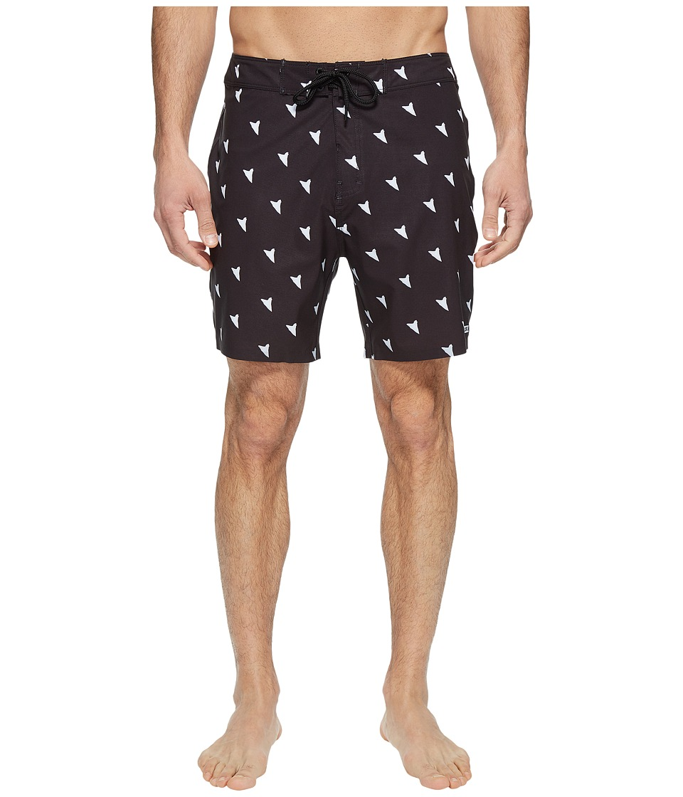 Globe - Shangri La 2.0 Boardshorts 18 (Black) Men's Swimwear