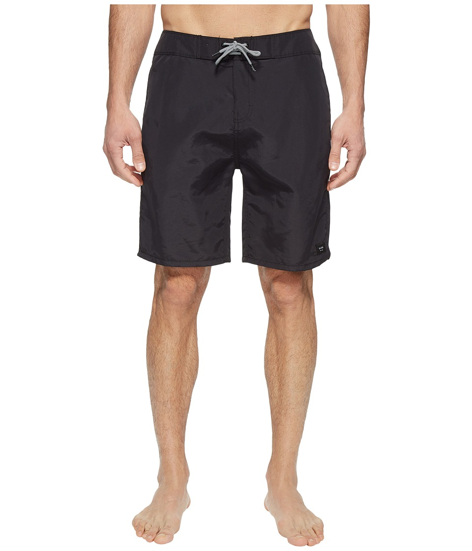 Globe - Dana 20 Boardshorts (Black) Men's Swimwear