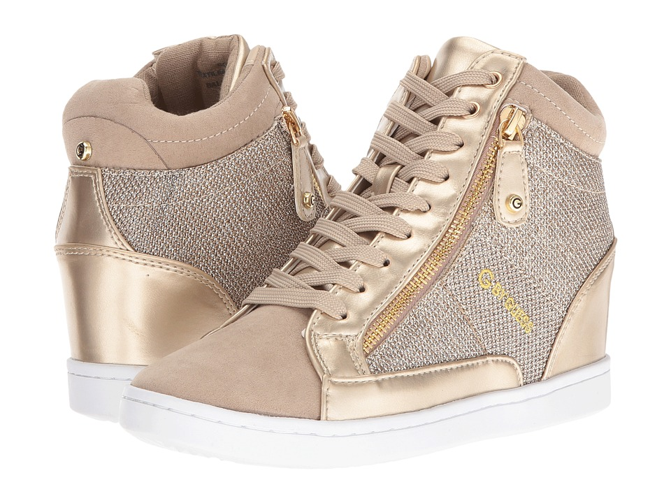 G by GUESS - Damsel (Gold Shimmer) Women's Shoes
