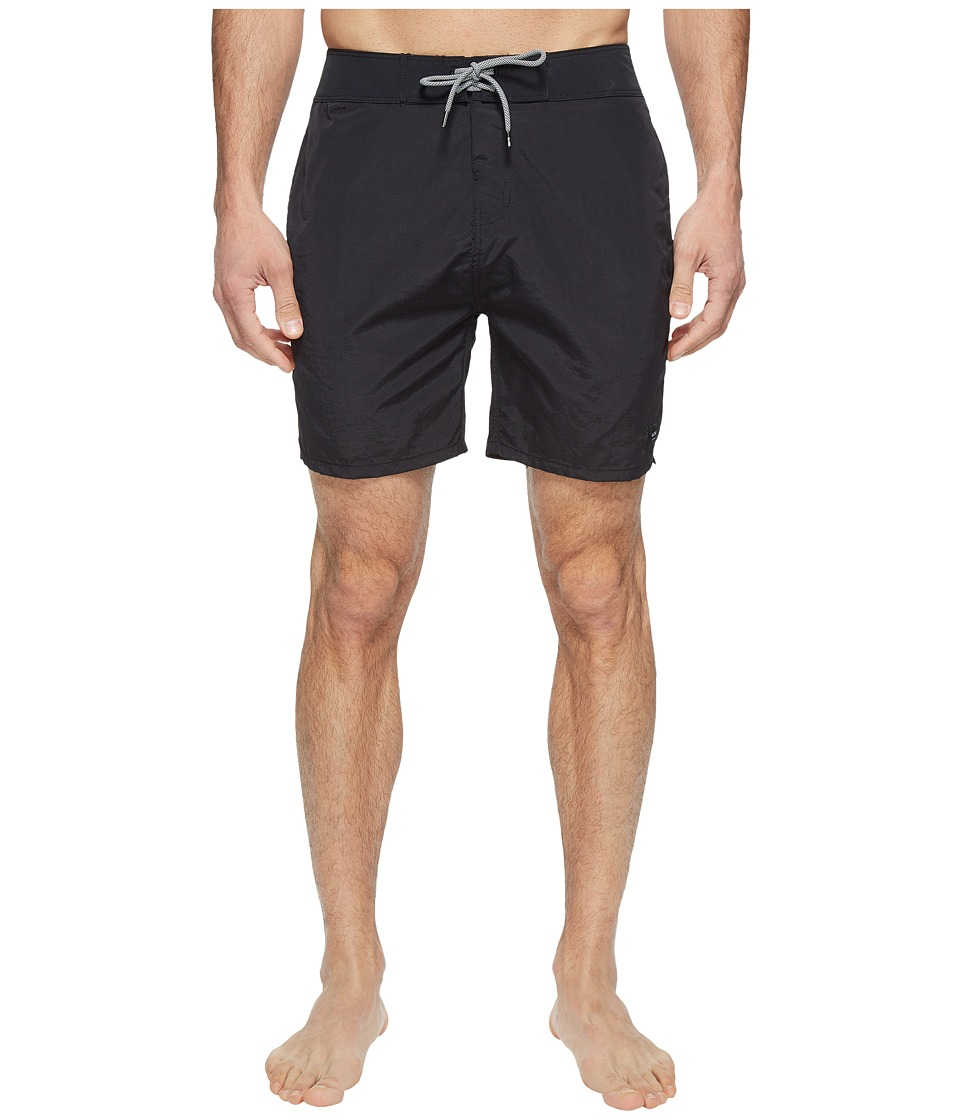 Globe - Dana 18 Boardshorts (Black) Men's Swimwear