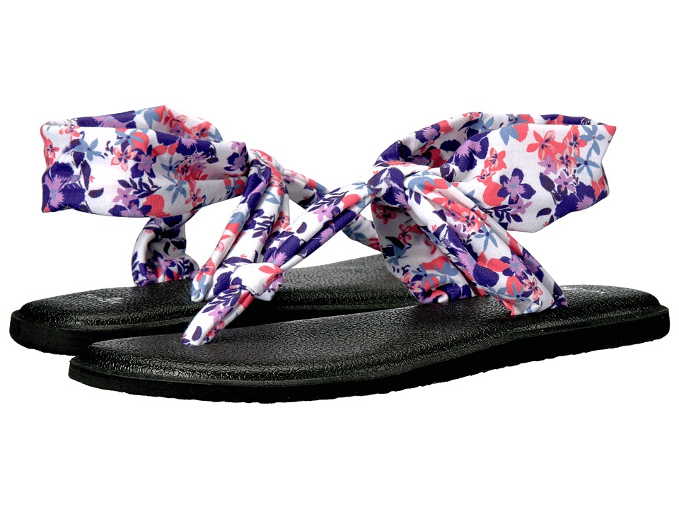 Sanuk - Yoga Sling Ella Prints (Liberty Waikiki Floral) Women's Sandals