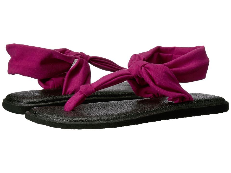 Sanuk - Yoga Sling Ella (Vivid Violet) Women's Sandals