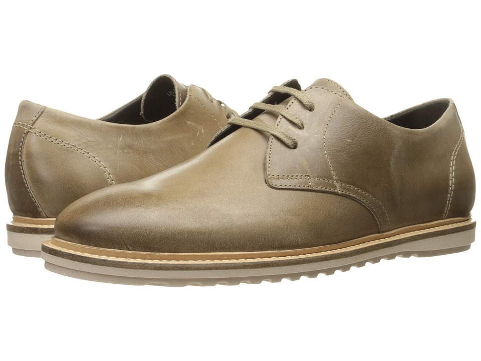 Wolverine - Kirk Oxford (Taupe Leather) Men's Lace up casual Shoes