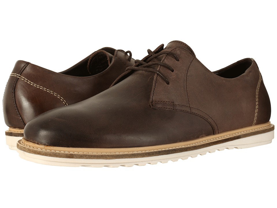 Wolverine - Kirk Oxford (Brown Leather) Men's Lace up casual Shoes