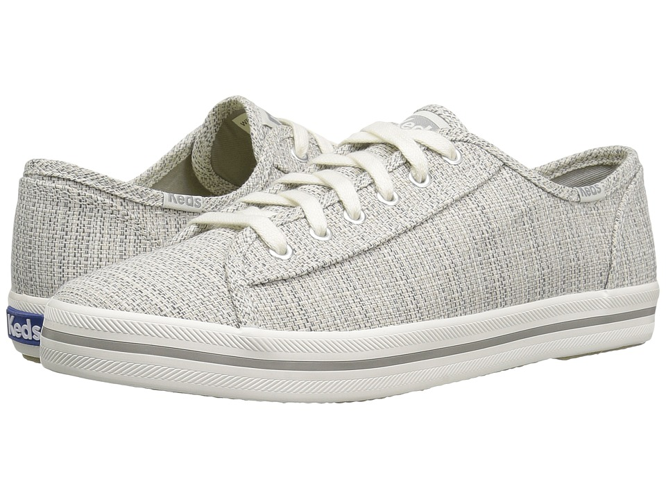 Keds Kickstart Woven (Light Gray) Women
