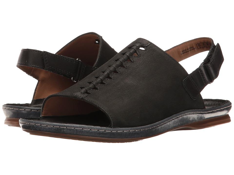 Clarks - Sarla Forte (Black Nubuck) Women's Sandals