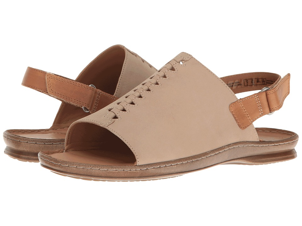Clarks - Sarla Forte (Sand Nubuck) Women's Sandals