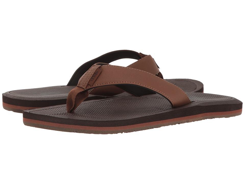 Vans - Nexpa Synthetic (Bison/Demitasse) Men's Sandals