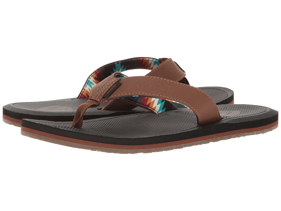 Vans - Nexpa Synthetic ((Nathan Fletcher) Brown) Men's Sandals