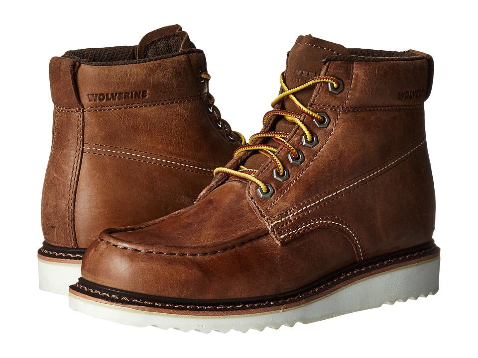 Wolverine - Ranger 6 Moc Toe (Stone Nubuck) Men's Boots