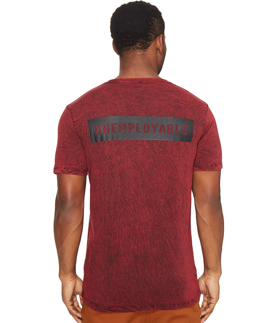 Globe - Unemployable Short Sleeve Tee (Acid Red) Men's T Shirt