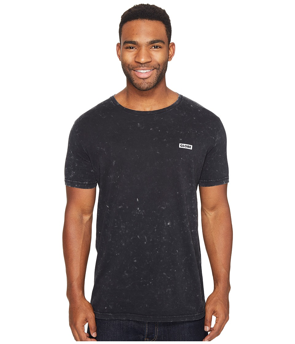 Globe - Unemployable Short Sleeve Tee (Acid Black) Men's T Shirt