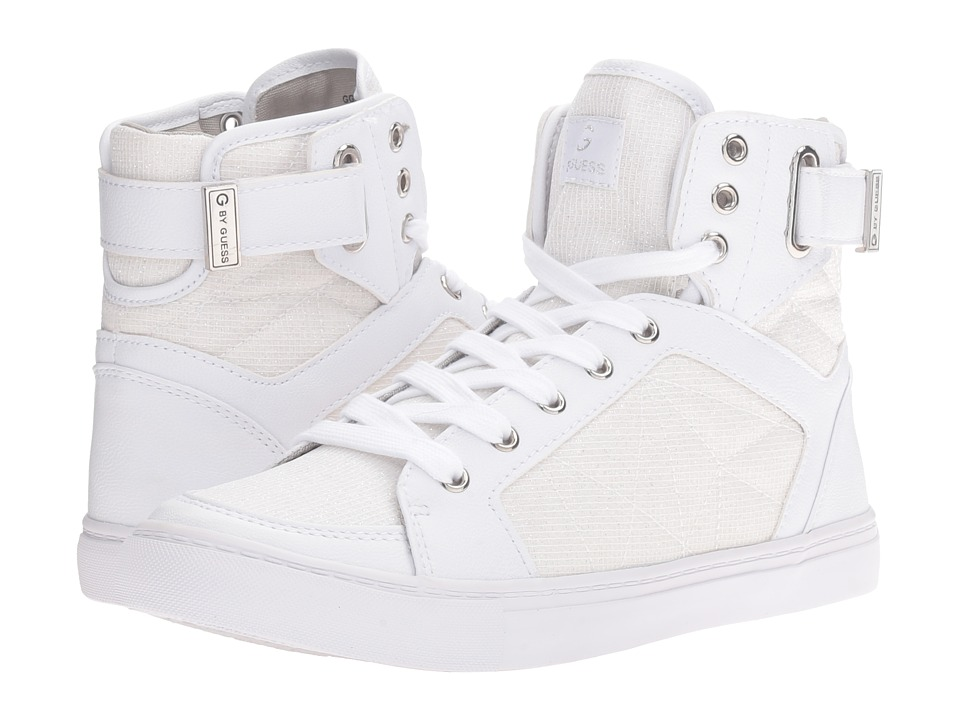 G by GUESS Omarc2 (White) Women