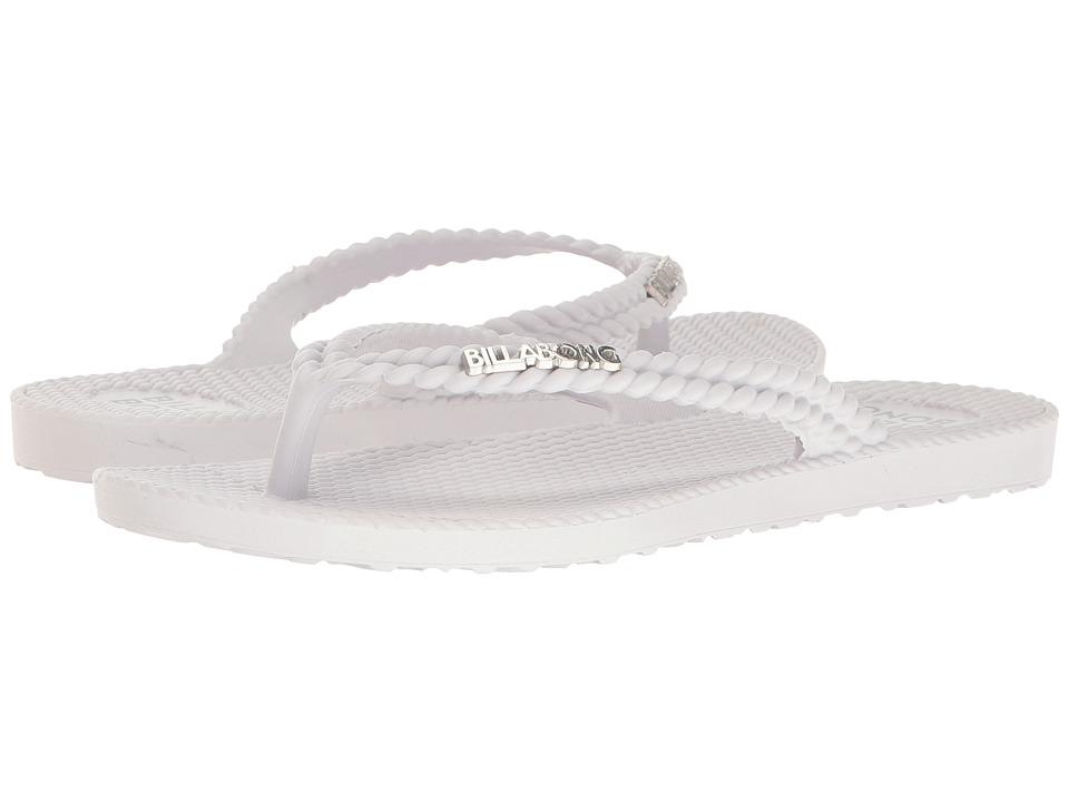 Billabong - Kick Back (White) Women's Shoes