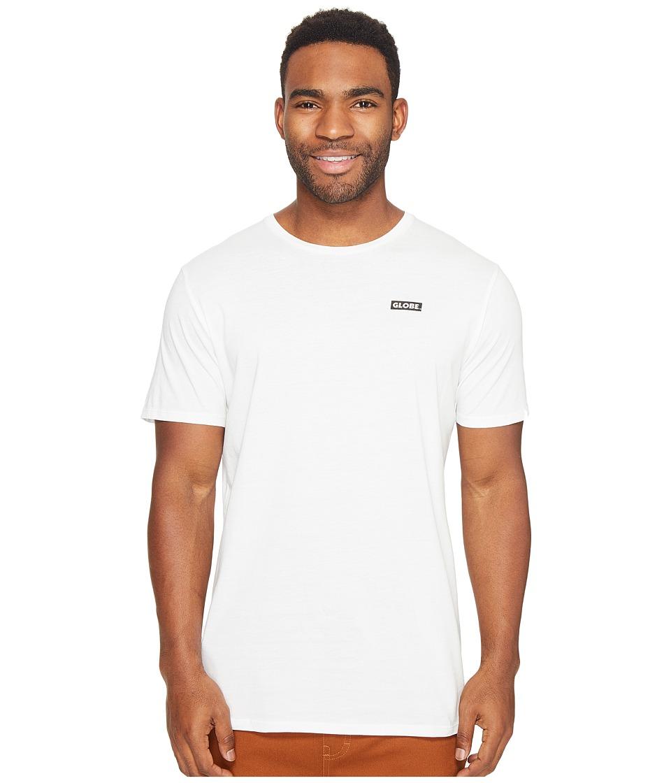 Globe - Sticker Tee (Blanc) Men's T Shirt