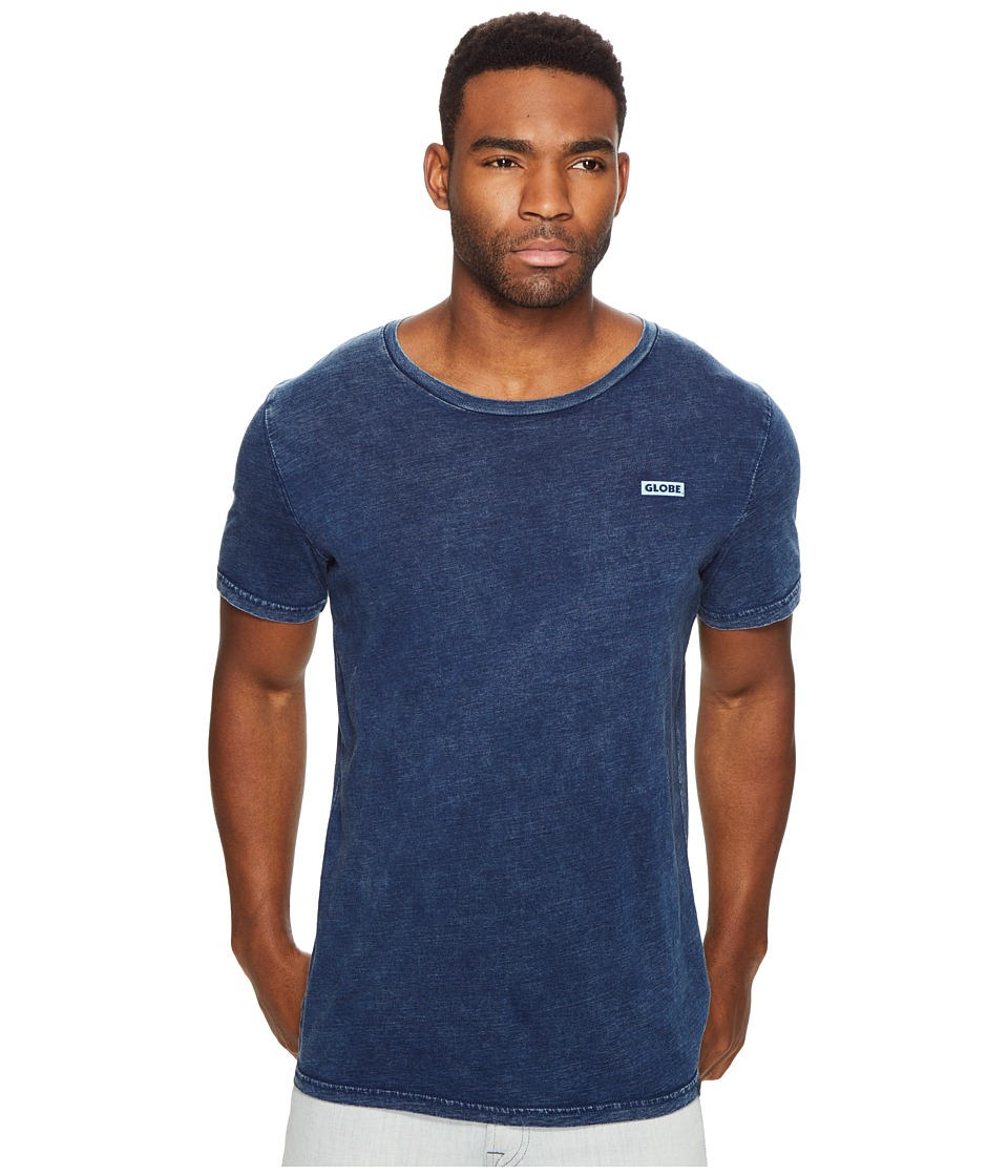 Globe - Rail Tee (Indigo Acid) Men's T Shirt