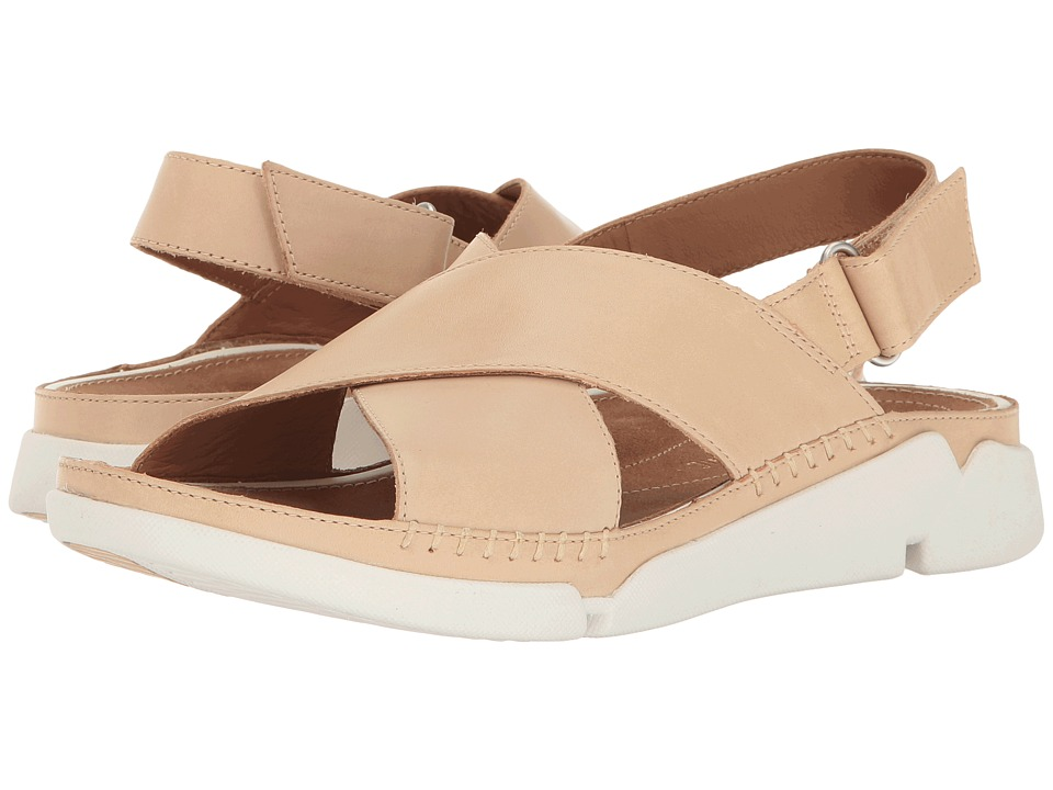 Clarks - Tri Alexia (Nude Leather) Women's Sandals