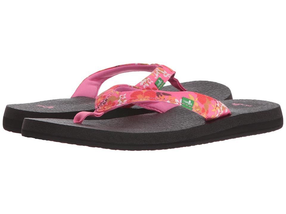 Sanuk - Yoga Meta (Paradise Pink Waikiki Floral) Women's Sandals
