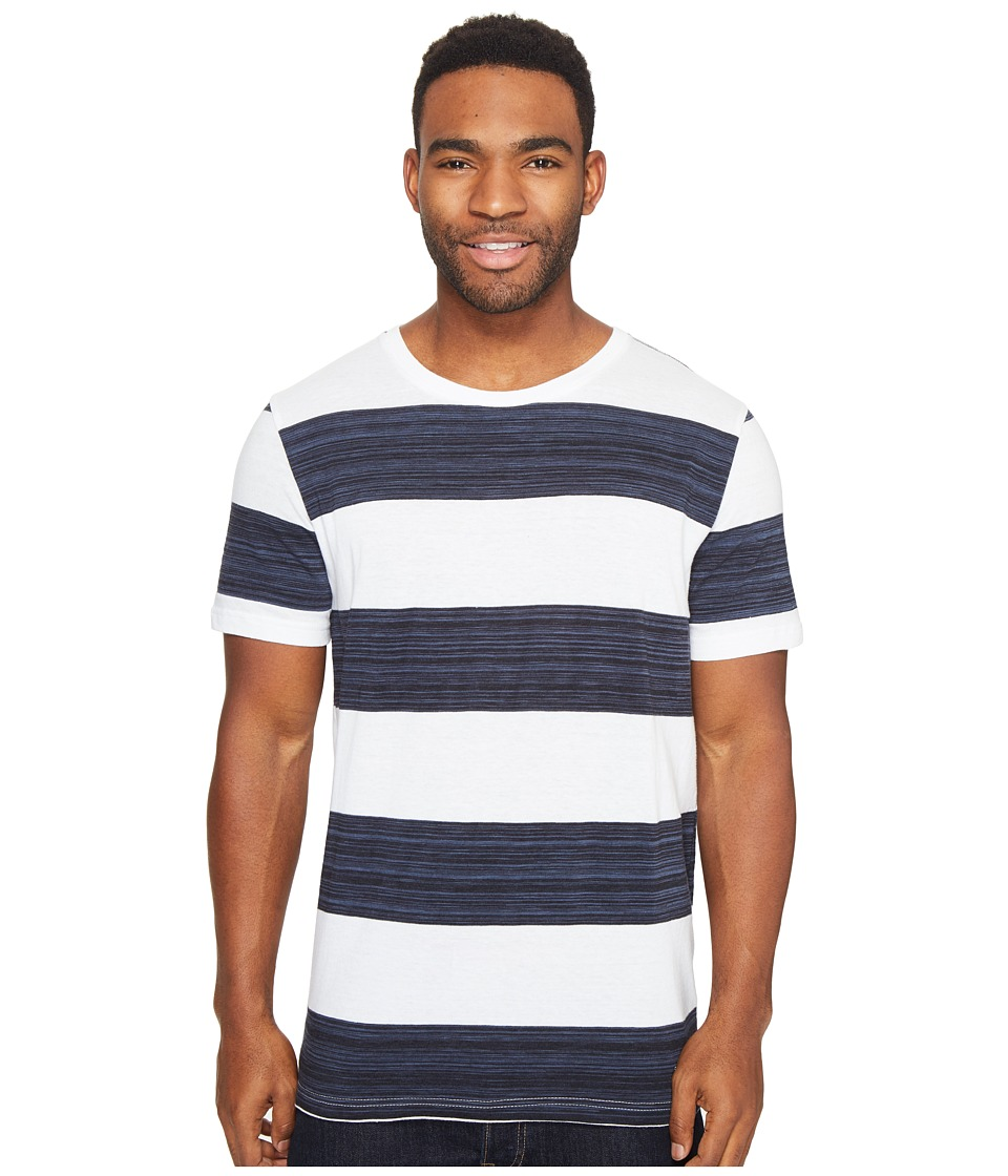 Globe - Moonshine Tee (Space Dye White) Men's T Shirt
