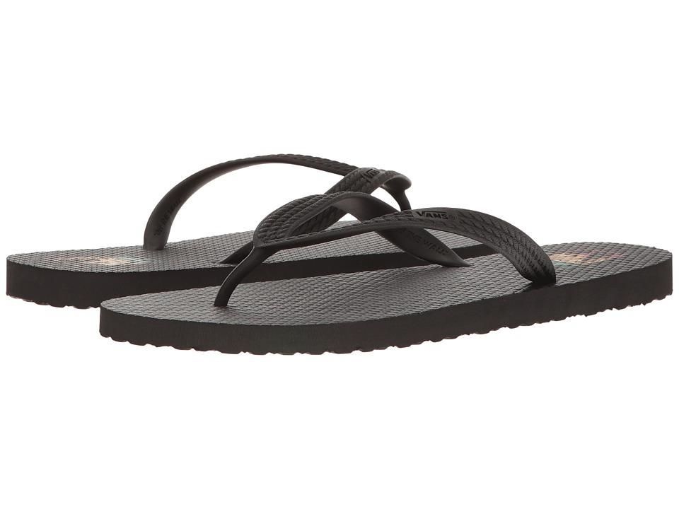 Vans - Hanelei (Black/Rasta) Men's Sandals