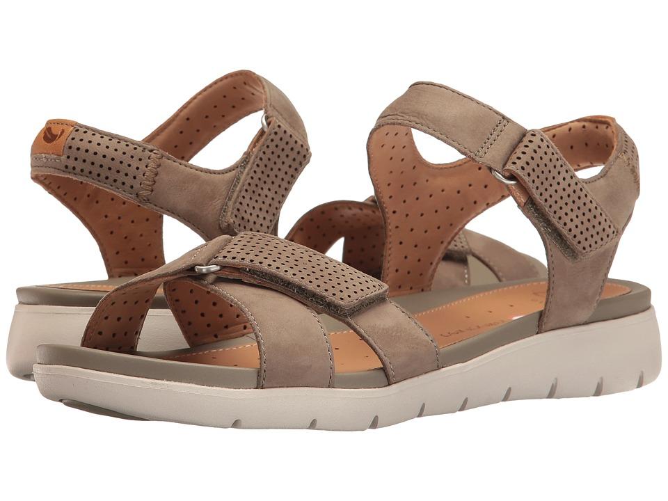 Clarks - Un Saffron (Sage Nubuck) Women's Sandals