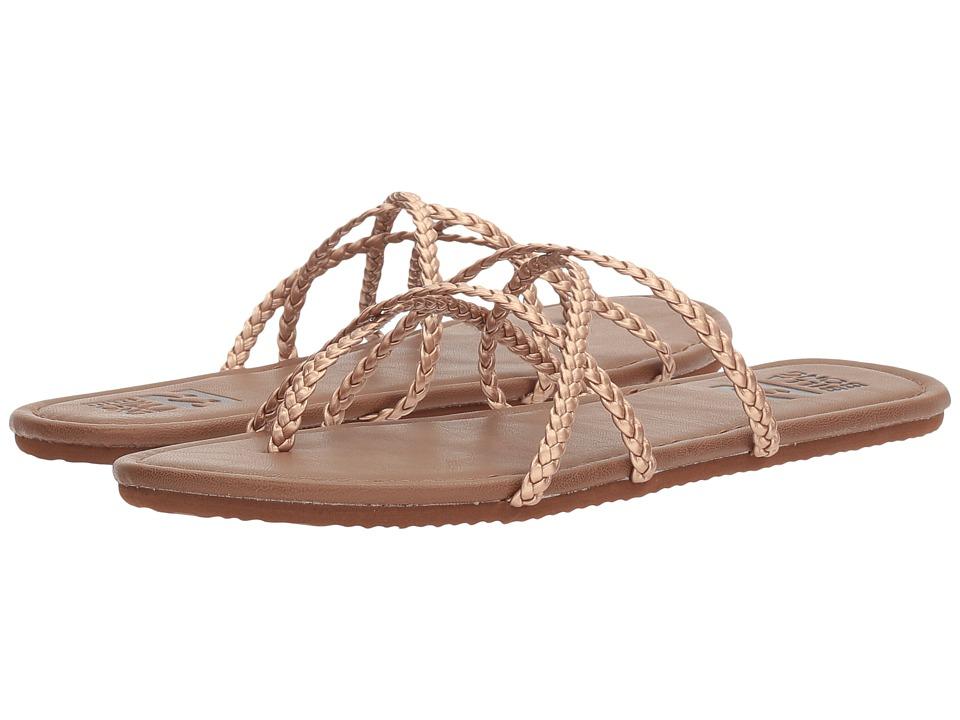 Billabong - Crossing It (Rose Gold Multi) Women's Shoes
