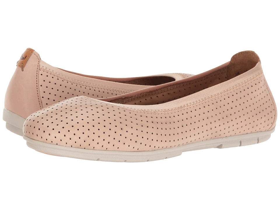 Clarks - Un Tract (Nude Pink Leather) Women's Shoes