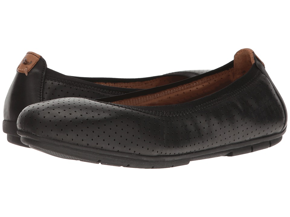 Clarks - Un Tract (Black Leather) Women's Shoes