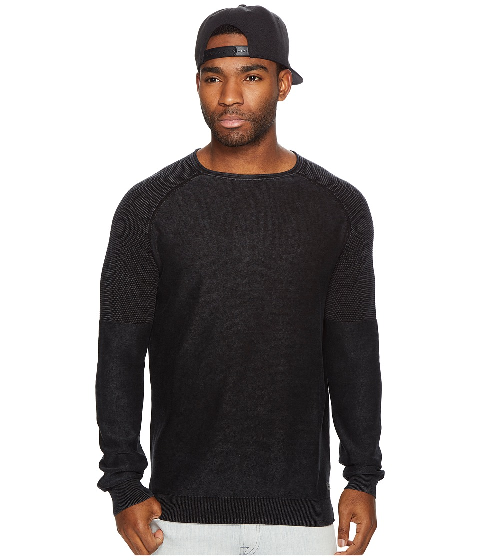 Globe - Vega Knit (Black) Men's Long Sleeve Pullover