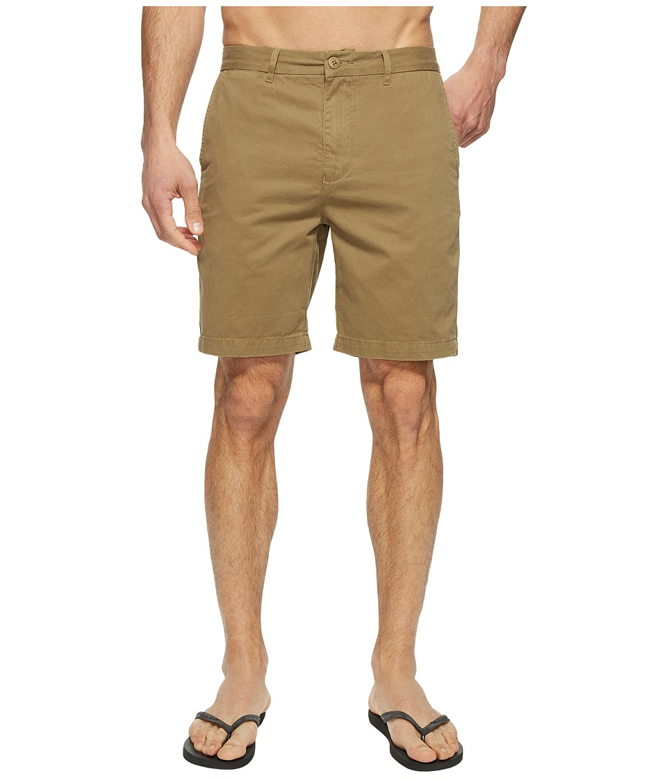 Globe - Goodstock Chino Walkshorts (Taupe) Men's Shorts