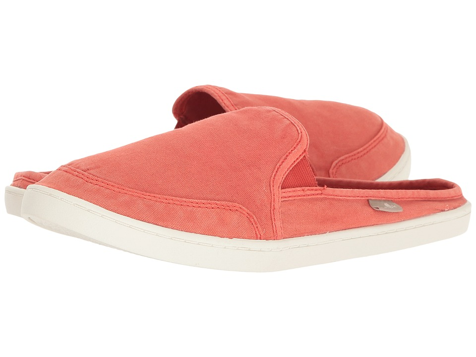 Sanuk - Dree Me Cruiser (Red) Women's Slip on Shoes