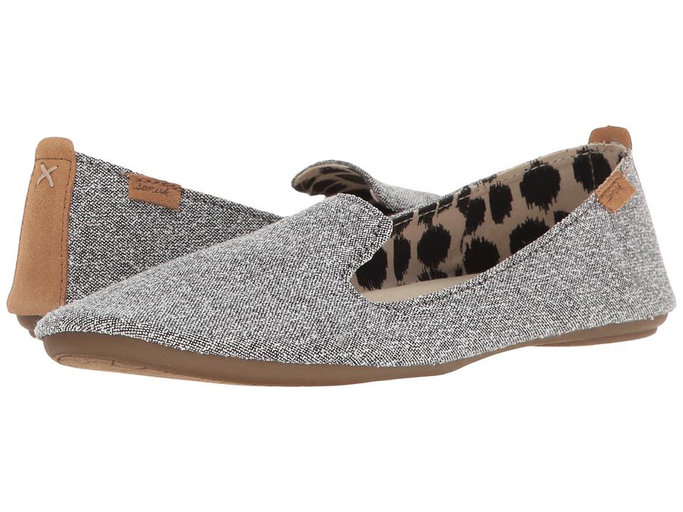 Sanuk - Piper (Washed Black) Women's Flat Shoes