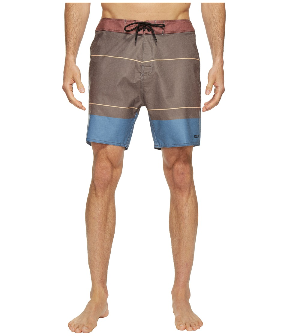 Globe - Breezer Boardshorts (Aquamarine) Men's Swimwear