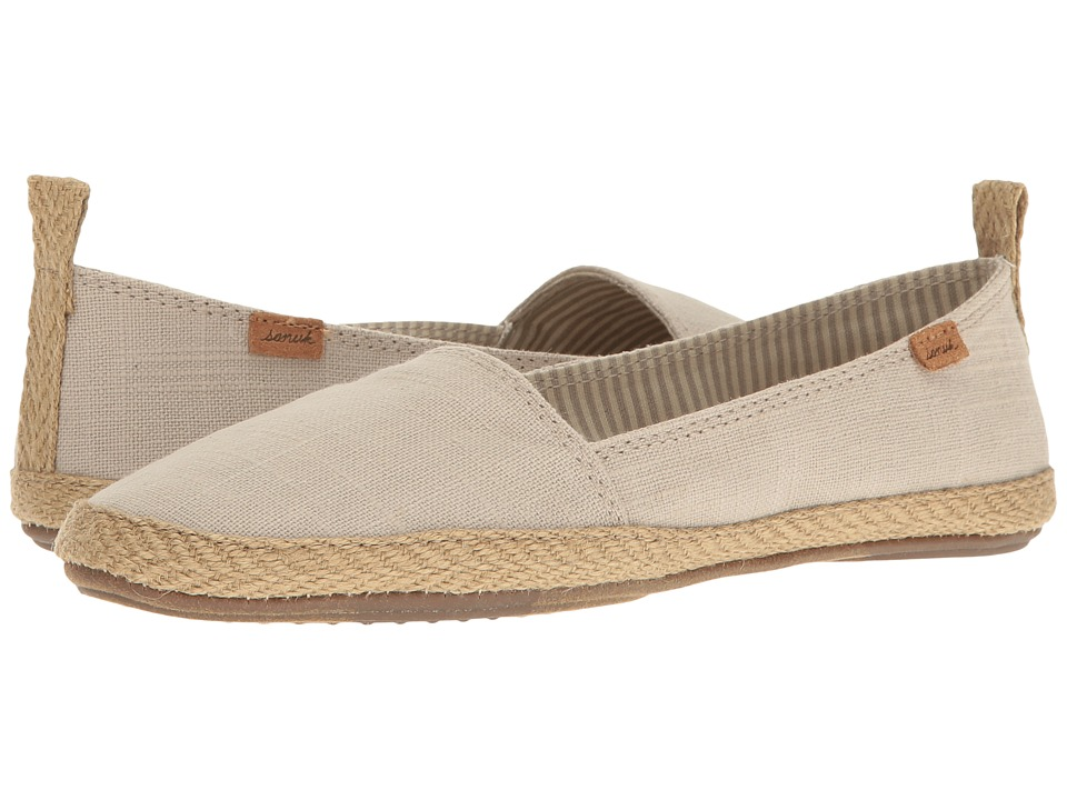 Sanuk - Espie Slip-On (Natural) Women's Slip on Shoes