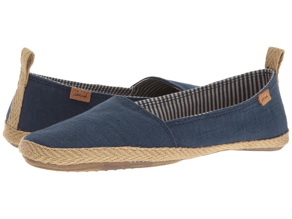 Sanuk - Espie Slip-On (Navy) Women's Slip on Shoes