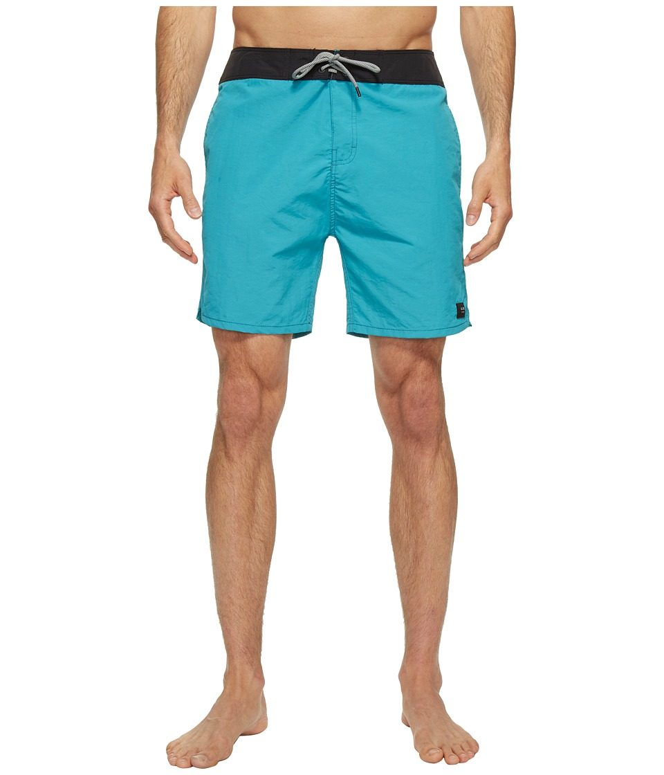 Globe - Dana 18 Boardshorts (Aquamarine) Men's Swimwear