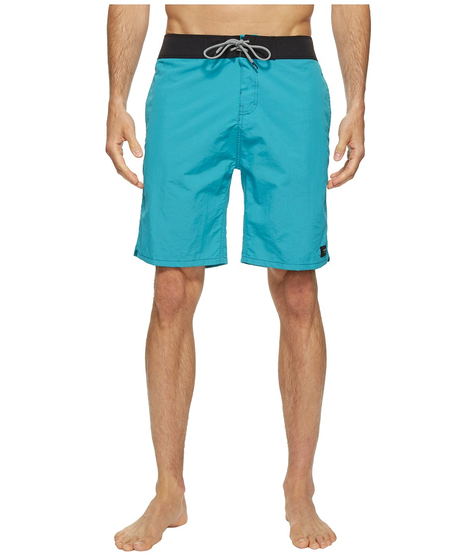 Globe - Dana 20 Boardshorts (Aquamarine) Men's Swimwear