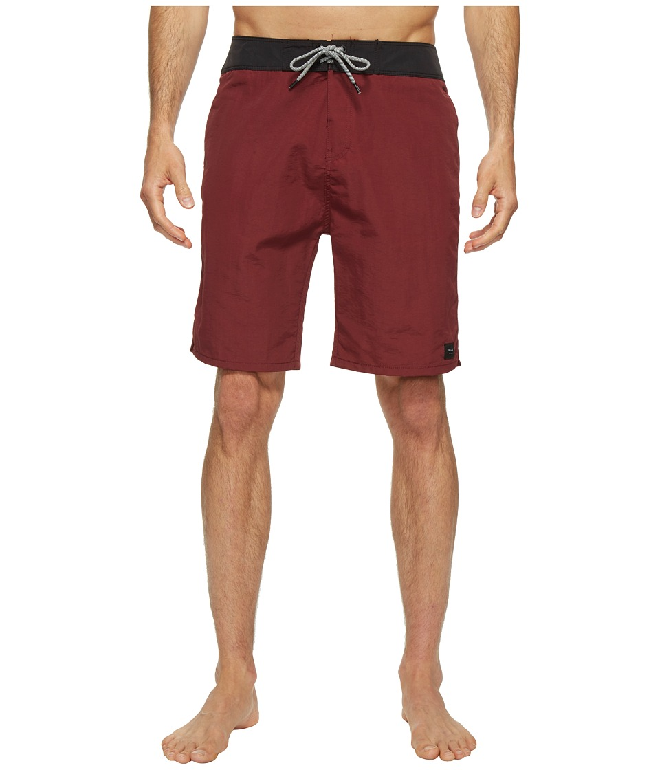 Globe - Dana 20 Boardshorts (Red) Men's Swimwear