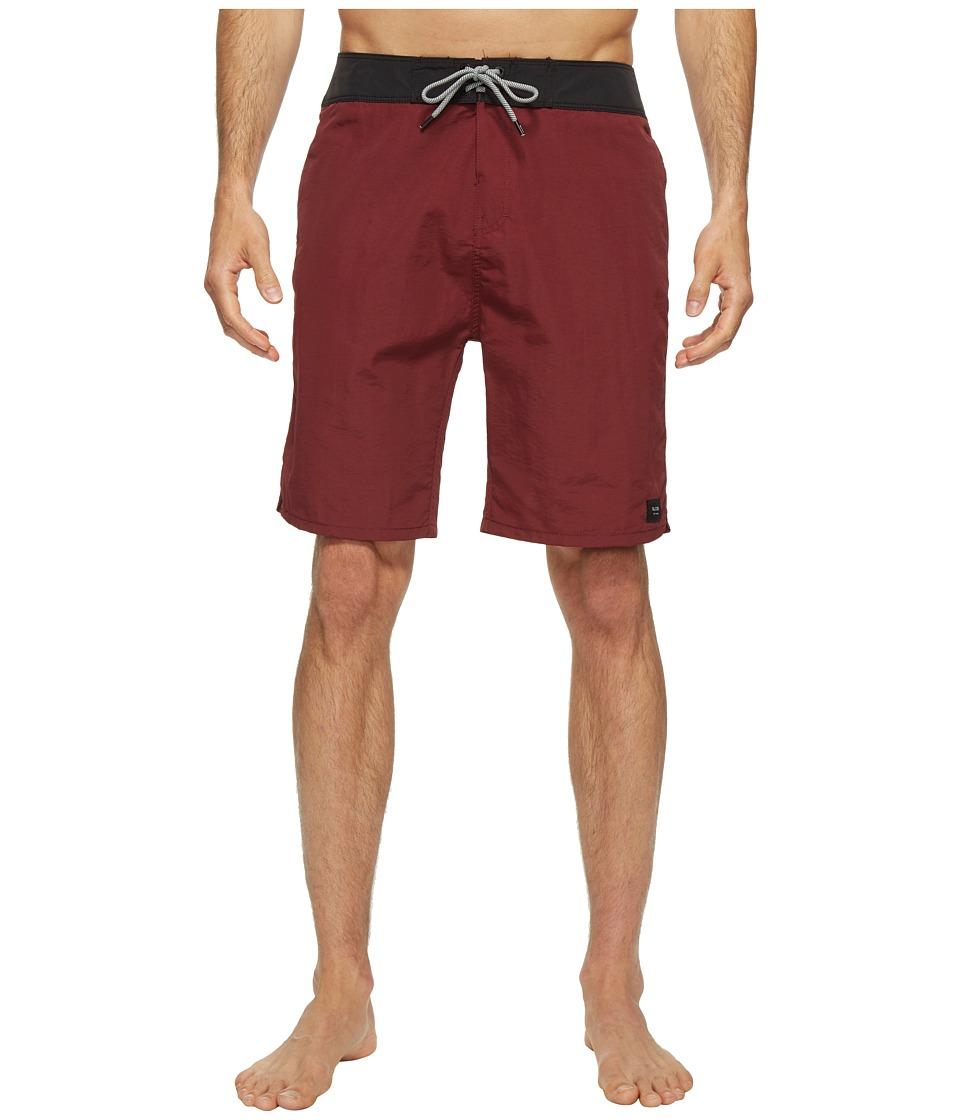 Globe - Dana 20 Boardshorts (Red) Men's Swimwear