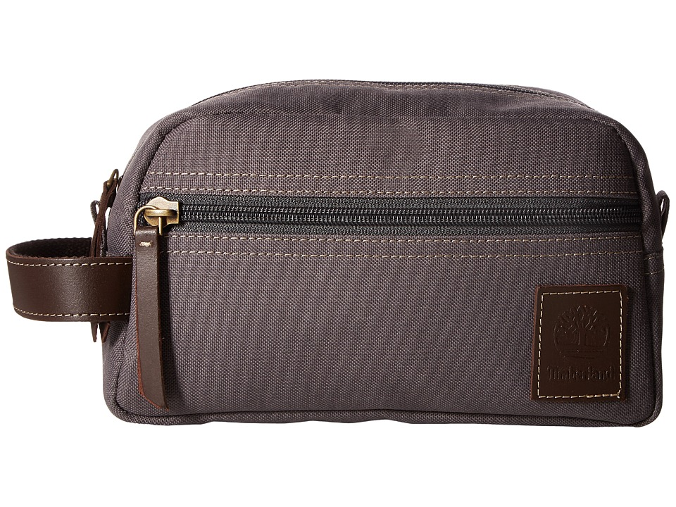 Timberland - Canvas Travel Kit (Grey) Travel Pouch