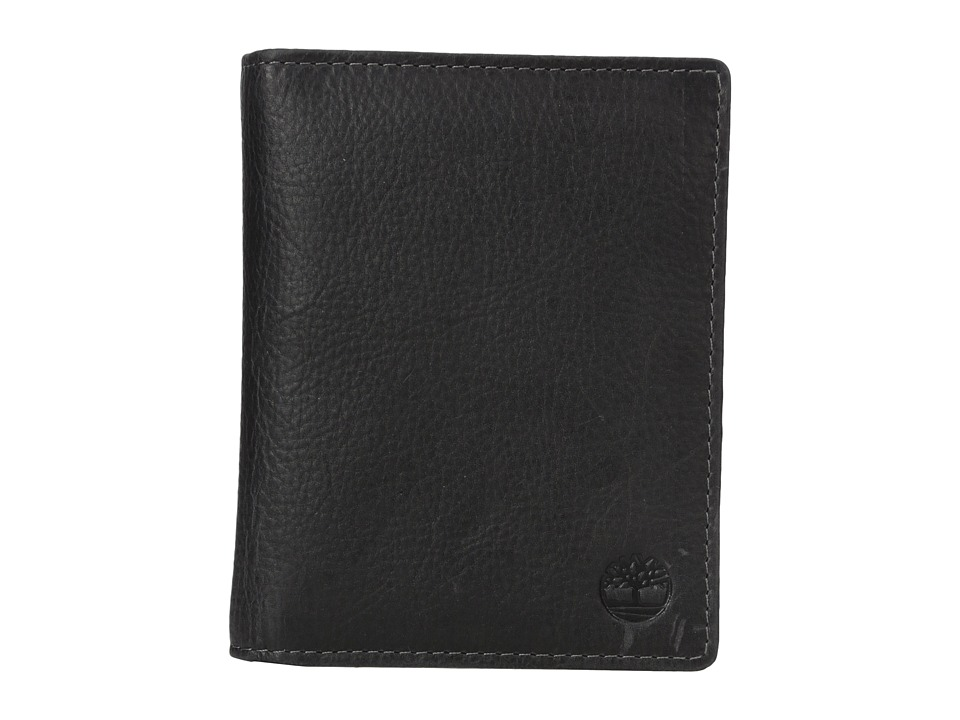 Timberland - Passport Wallet - Cow Crunch (Black) Wallet Handbags