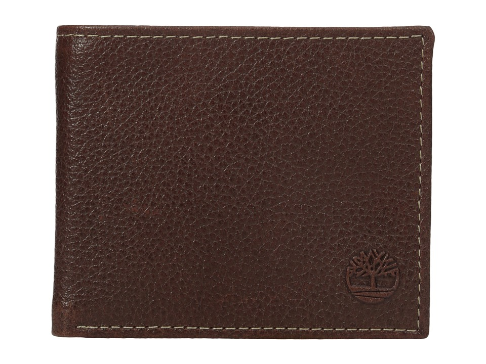 Timberland - Sportz Billfold with Bo/Comp/Flash Fob (Brown) Bill-fold Wallet