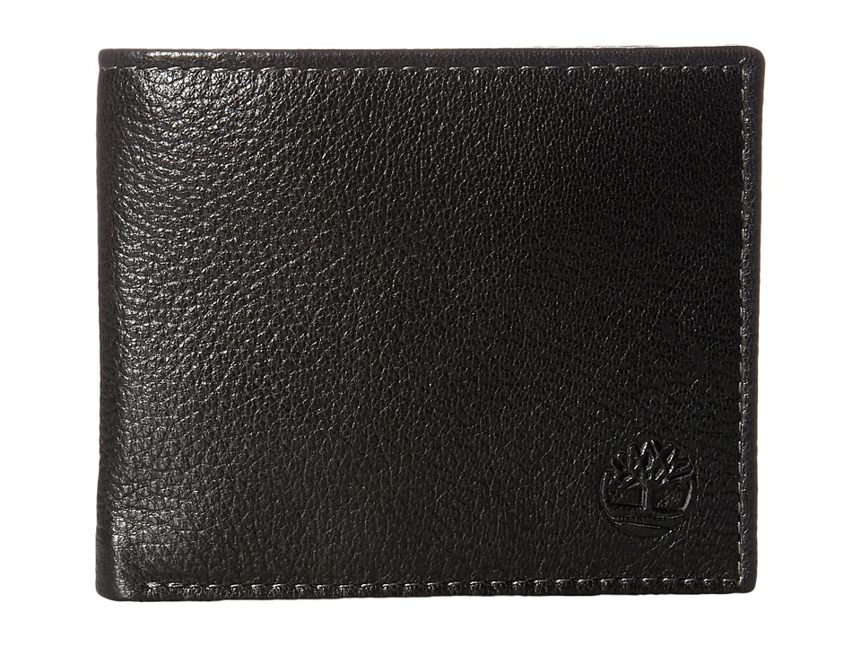 Timberland - Sportz Billfold with Bo/Comp/Flash Fob (Black) Bill-fold Wallet