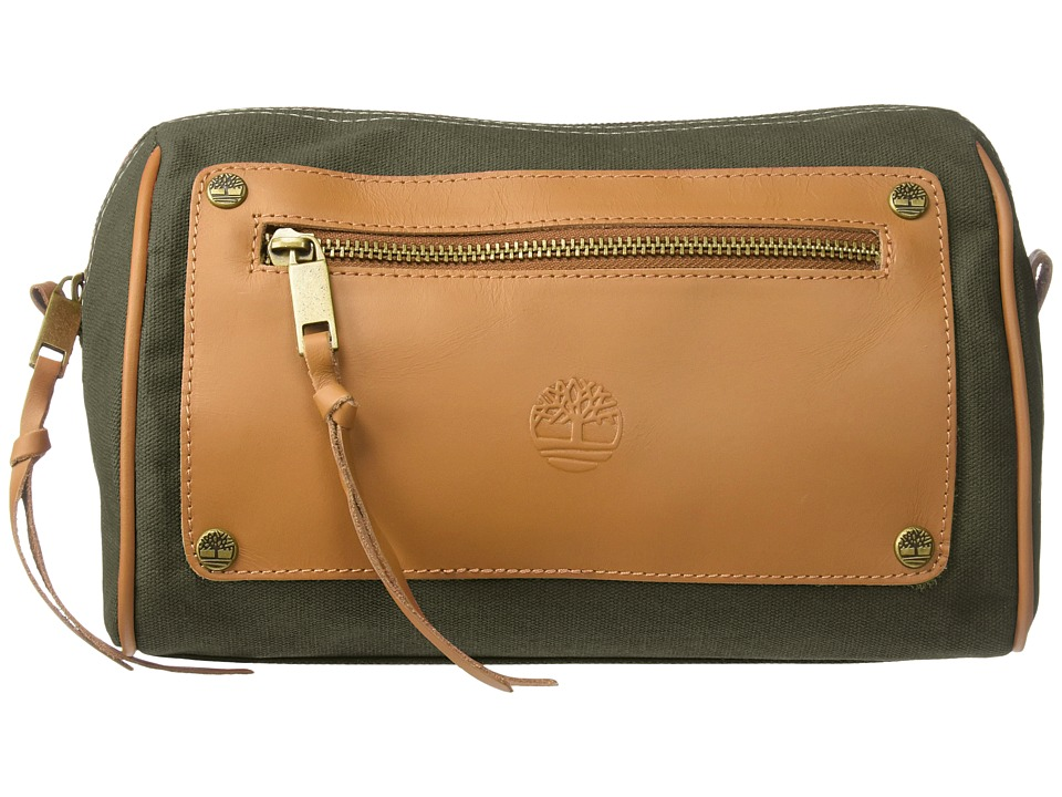 Timberland - Canvas Leather Travel Kit (Olive) Wallet