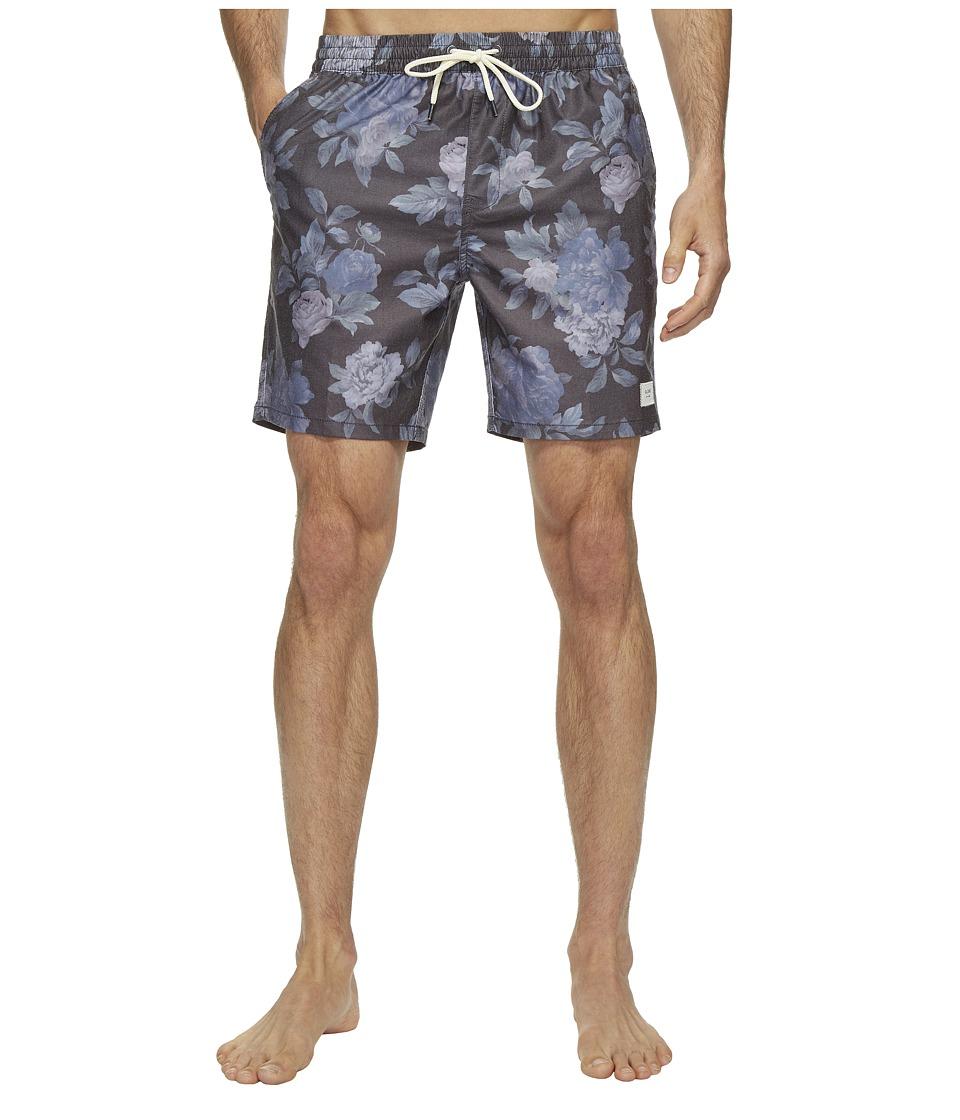 Globe - Lynch Poolshorts (Coal) Men's Swimwear