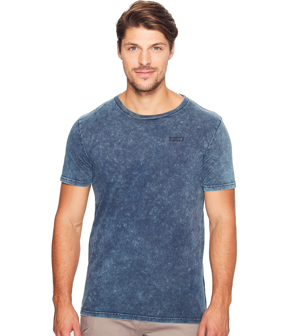Globe - Rail Tee (Acid Blue) Men's T Shirt