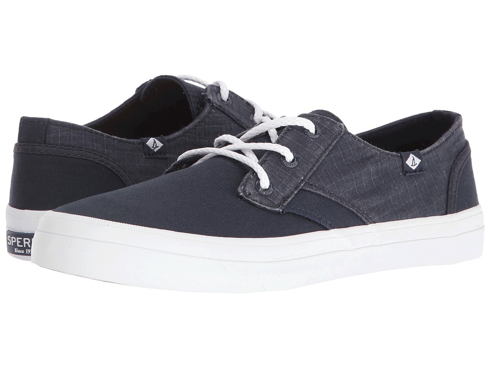Sperry Top-Sider - Crest Rider Canvas (Navy) Women's Lace up casual Shoes